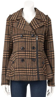 Head outside in style with this juniors' Urban Republic peacoat. Girls Dresses, Teen, Urban, Stylish, Coat, Jackets, Fashion, Dresses Of Girls, Down Jackets