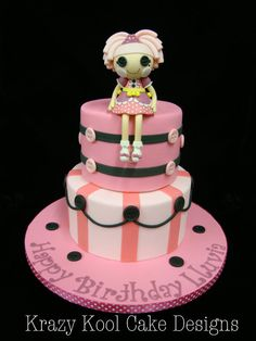 Lalaloopsy Cake Topper by KrazyKoolCakeDesigns on Etsy, $150.00
