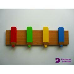 1000 images about percheros de pared on pinterest html - Perchero infantil pared ...