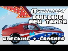 Some more Stuntfest, we'll build a new track! 😂 You want car shredders? Next Car Game: Stuntfest toilet jumping, long. Car Game, Ski Jumping, News Track, Skiing, Toilet, Channel, Stairs, Games, Youtube