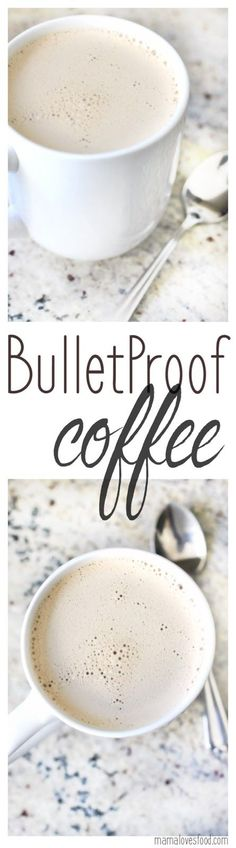 How to Make Bulletproof Coffee - perfect if you're hungry in the morning but don't like to eat breakfast! This stuff is DELICIOUS