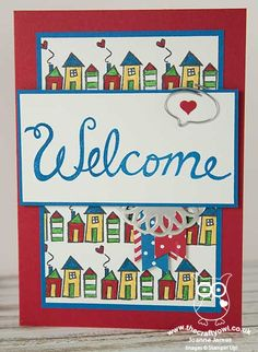 #WelcomeWords - Outside A fun way to welcome a #NewNeighbour to your street! The Crafty Owl | Welcome Words - Welcome To Our Street