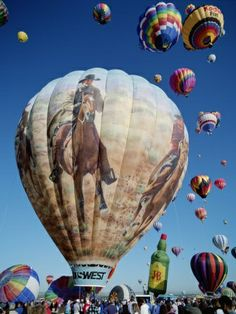 #KBHome Hot Air Balloons New Mexico | Hot Air Balloons, Albuquerque Balloon Fiesta, Albuquerque, New Mexico