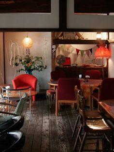 Cafe Interior, Shop Interior Design, Cafe Design, Cafe Restaurant, Restaurant Design, Japanese Style House, Cafe Concept, Cafe Bistro, Cafe Style
