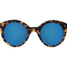 Illesteva Palm Beach cat-eye sunglasses ($200) ❤ liked on Polyvore featuring accessories, eyewear, sunglasses, illesteva, illesteva sunglasses, illesteva eyewear, cat eye sunnies and beach glasses