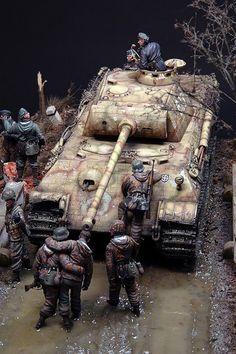 Diorama Segunda Guerra Mundial 10