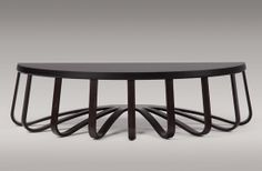 Coffee table designed by Paul Mathieu for Holly Hunt