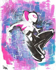 Spider-Gwen by Robbi Rodriguez