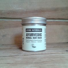 """vegan ayurvedic soapnut hair mask with shikakai hibiscus amla tulsi neem - """"None of our products contain palm oil or any of its derivatives..."""""""
