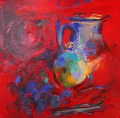 concepcion balmes - Buscar con Google Still Life, Google, Painting, Calla Lilies, Expressionism, Abstract, Artworks, Mosaics, Paintings