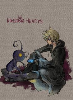 Roxas and Heartless