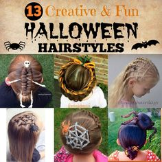 Needs some Halloween hair inspiration? I'm sharing 13 creative and fun Halloween hairstyles that are all perfectly festive!
