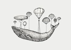 Blue Whale Transfer by Herds of Birds | Society6                                                                                                                                                                                 More