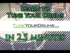Standard Drum Tunings - Tune Your Drums