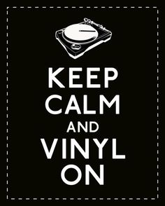 There is no better music that music listened to on vinyl. I love my record player.I have everything from the classics to metal on vinyl. (Thank you Hubby for getting it for me! House Music, Music Is Life, My Music, Piano Music, Music Stuff, Vinyl Quotes, Music Quotes, Dj Quotes, Life Quotes