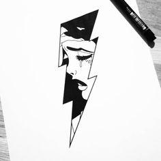 Pencil Art Drawings, Cool Art Drawings, Art Drawings Sketches, Tattoo Sketches, Tattoo Drawings, Flash Art Tattoos, Body Art Tattoos, Art And Illustration, Black And White Illustration