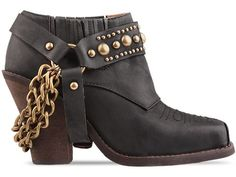 Jeffrey Campbell Gene in Brown Distressed