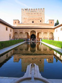 Alhambra - Must see palace and fortress complex located in Granada, Andalusia, Spain