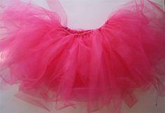 Tutorial for a no sew tutu ~ have made these on ordinary elastic for an adult tutu ~ tutu cute!!