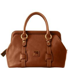 Dooney & Bourke: Florentine Mitchell Bag -- love that it can hold itself open wide!