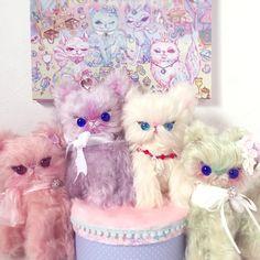 いつも安定のかわいいぬいぐるみユニータ浦山亜由美さん今回は絵子猫が描いたウミガメとコラボで新しい子登場!大きな羊毛フェルトで作るリアルパレードはカメレオンフル…