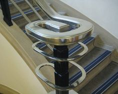 art deco staircase ballustrade at The Derby Conference Centre / UK