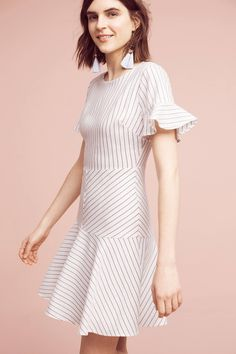 Shop the Gretchen Striped  Dress and more Anthropologie at Anthropologie today. Read customer reviews, discover product details and more.