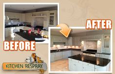 We are not just talking about painting kitchen cabnets here! We are talking about delivering a super smooth strrong factory like spray finish. Kitchen ReSpray.com  is Ireland's number one nationwide respray service.
