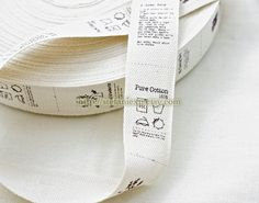 Sewing Tape/Ribbon - Original Handmade, Washing Label (16 Labels)