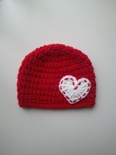 Hey, I found this really awesome Etsy listing at https://www.etsy.com/listing/213987330/crochet-valentines-day-hat-baby