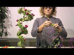 Trabajo floral San Valentín todo corazón - YouTube