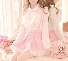 Japanese sweet chiffon blouse from Fashion Kawaii Use ' usagi ' for 10% off