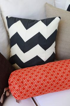 1000+ images about Red, Navy & Orange on Pinterest Pillows, Throw pillows and Navy