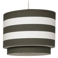 Stripe Double Large Cylinder Brown