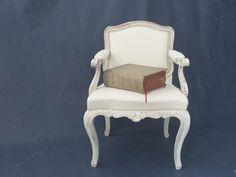 Original alter Barock Stuhl neu gefasst von Alina Cesar