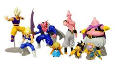 """Dragon Ball Z Action Figure Set (1 Blind Box) by Bandai. $74.99. Size of each figure approx. 4"""" tall. Please note that you cannot know what you will get more until you open the box. 1 Blind Box=5 Kinds/8 Pieces (You are getting 5 kinds of 8pcs for one box). Dragon Ball Z Action Figure Set"""