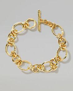 Sheryl Lowe 14k Gold Bracelet w/ Diamond ID Tag kkJ6I