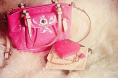 Louis Vuitton in pink