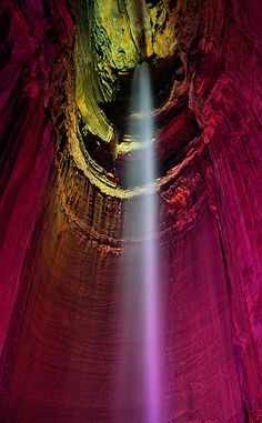 Ruby Falls. Family vacation spot! Been here, very breath taking! You get to walk behind the waterfall. It is so neat!!! ~Danielle.