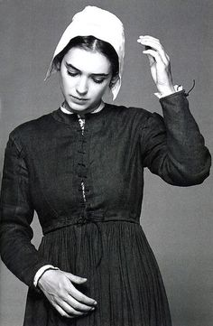 Winona Ryder as Abigail Williams in The Crucible Winona Ryder, Winona Forever, Maleficarum, Salem Witch Trials, Image Film, Season Of The Witch, Movie Costumes, Broadway Costumes, Le Far West