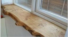 Wood window sill by BlackGufy on Etsy