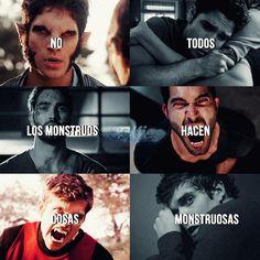 Not all monsters do monster things Teen Wolf Dylan, Teen Wolf Cast, Dylan O'brien, Teen Wolf Memes, Scott Mccall, Stydia, Sterek, Mtv, Daniel Sharman
