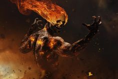 Inferno - by Benjamin Haley