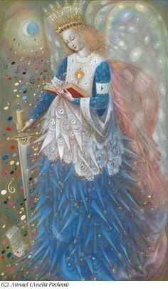 Annael (Anelia Panova) Angel of Wisdom and Power