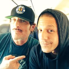 """""""Another chapter complete with mi hermano Always and adventure and never a chore. Theo Rossi, Best Tv Shows, Best Shows Ever, Favorite Tv Shows, Anarchy Quotes, Kim Coates, Tommy Flanagan, Bad Blood, Sons Of Anarchy"""