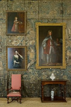 Long Gallery at Hardwick Hall