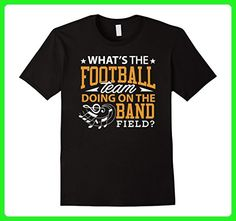 Mens Marching Band Supporter Tshirt Football Marching Band Music Medium Black - Sports shirts (*Amazon Partner-Link)
