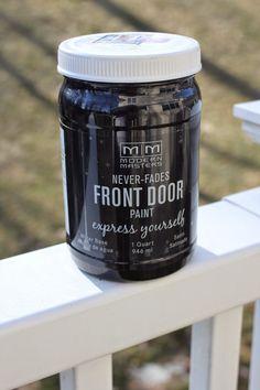 New Front Door Paint
