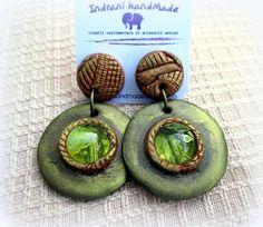Indrani Handmade: Cercei unicat lucrati manual