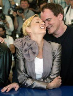 Quentin Tarantino and Uma
